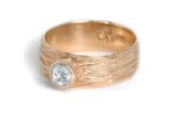 Sea Sand Diamond Ring