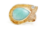 Blue Lagoon Larimar Ring