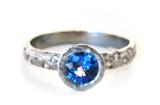 Blue Sapphire Stars Ring