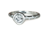 Canadian Rough Diamond Ring
