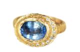 Custom Blue Sapphire Ring