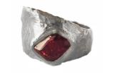 alternative ruby ring