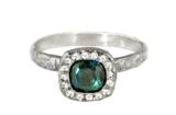 unique sapphire engagement ring Toronto Canada