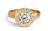 unique engagement ring handmade in Canada