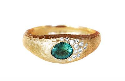 Unique Tourmaline Ring Toronto Canada