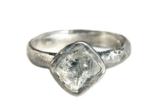 Organic Rough Diamond Solitaire