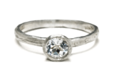 Organic-Solitaire-Ring