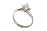 Rough Octahedron Prong Solitaire