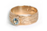 Sea Sand Aquamarine Ring