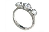 Three Diamonds in the Rough Ring