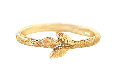 Nature Inspired Wedding Ring by Anouk Jewelry