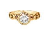 Unique Custom Engagement Ring , Toronto, Canada