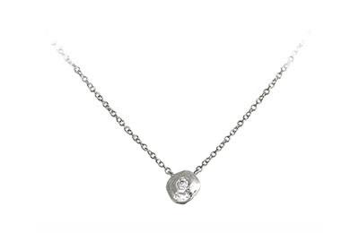 Delicate diamond necklace, made in Toronto