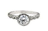 diamond engagement ring made in Toronto, Canada