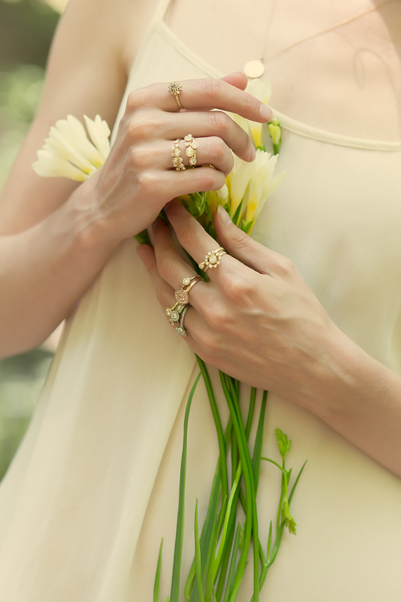 Organic Bridal Jewelry Canadian Jewelry design
