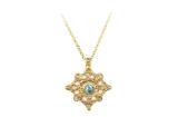 mandala bohemian necklace