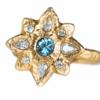 Alternative sapphire engagement ring