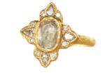 alternative engagement diamond halo ring