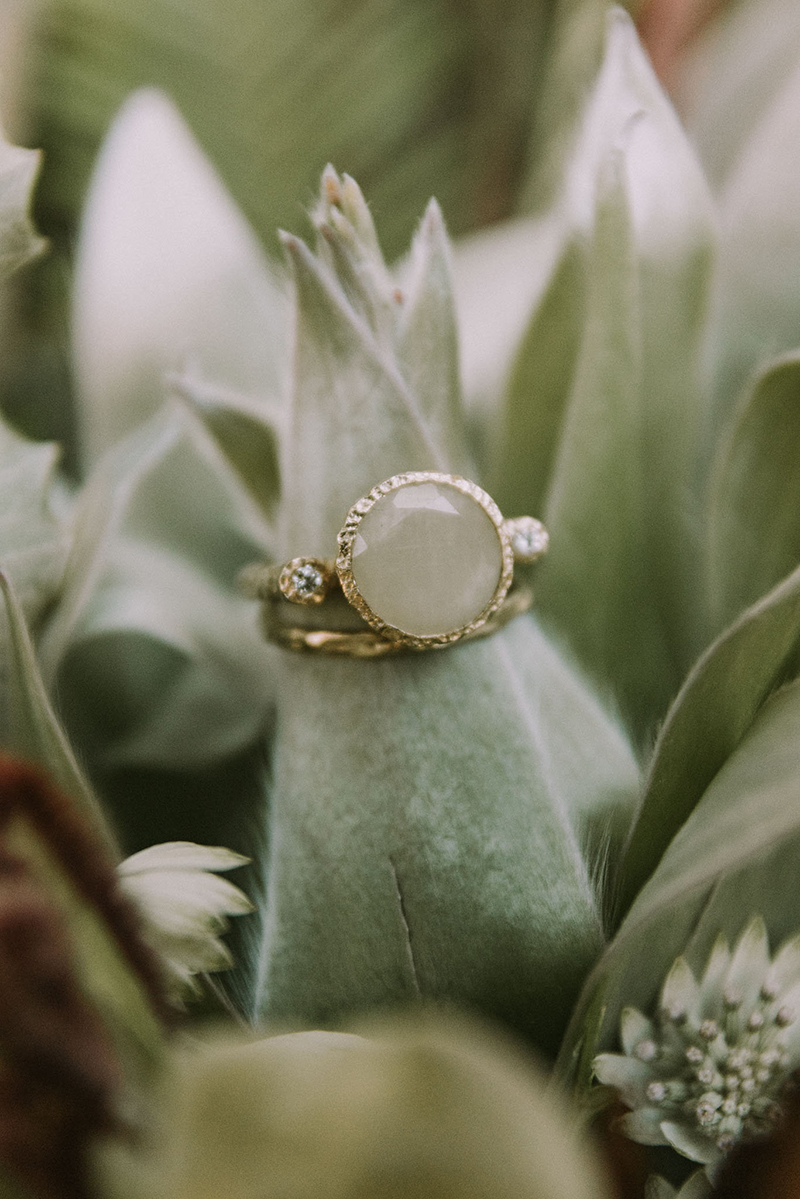 Unconventional Boho Engagement Ring