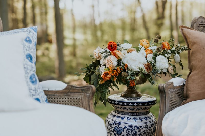 boho summer wedding style in Canada