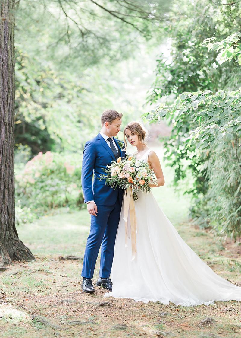 Nature inspired wedding style