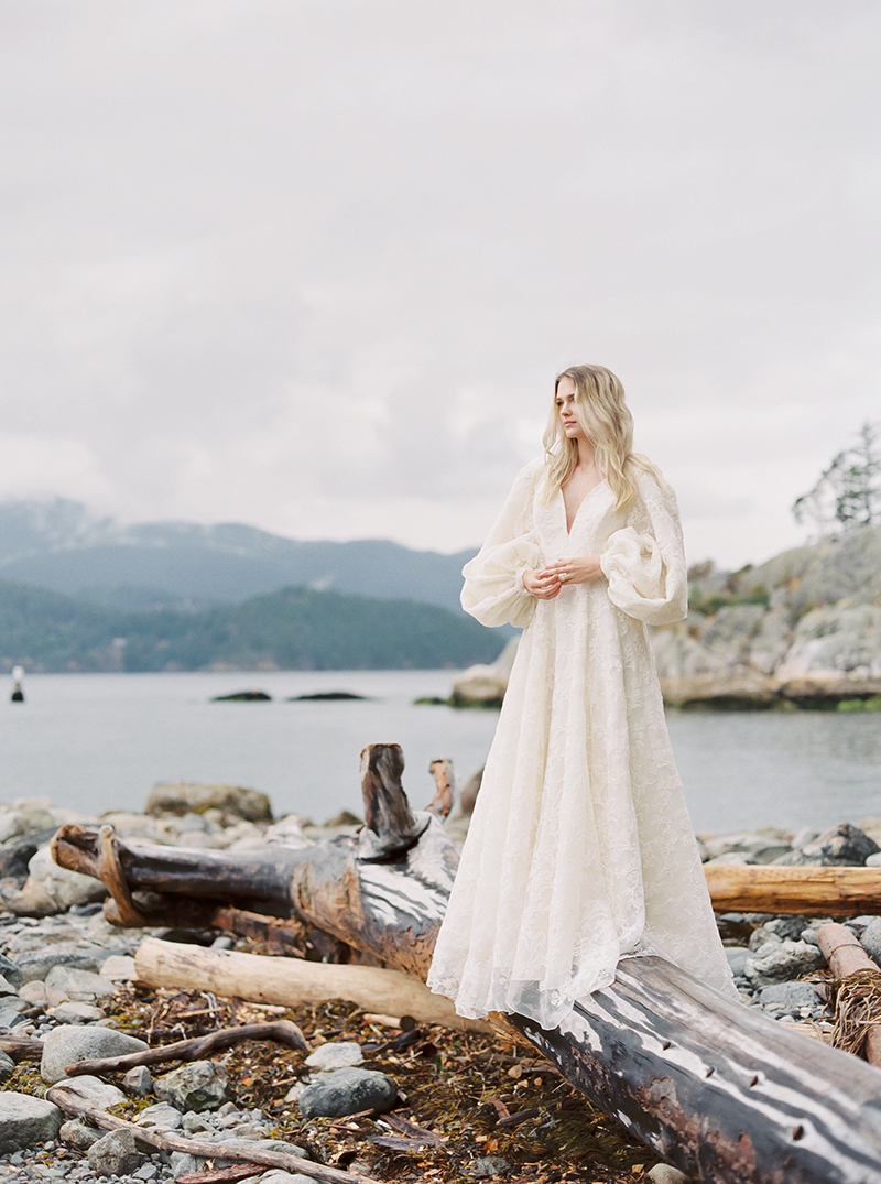 West coast wedding style, Canada