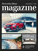 MercedezBenz magazine 2015 cover