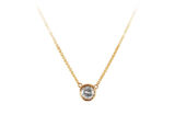 salt n pepper diamond gold necklace made in Canada