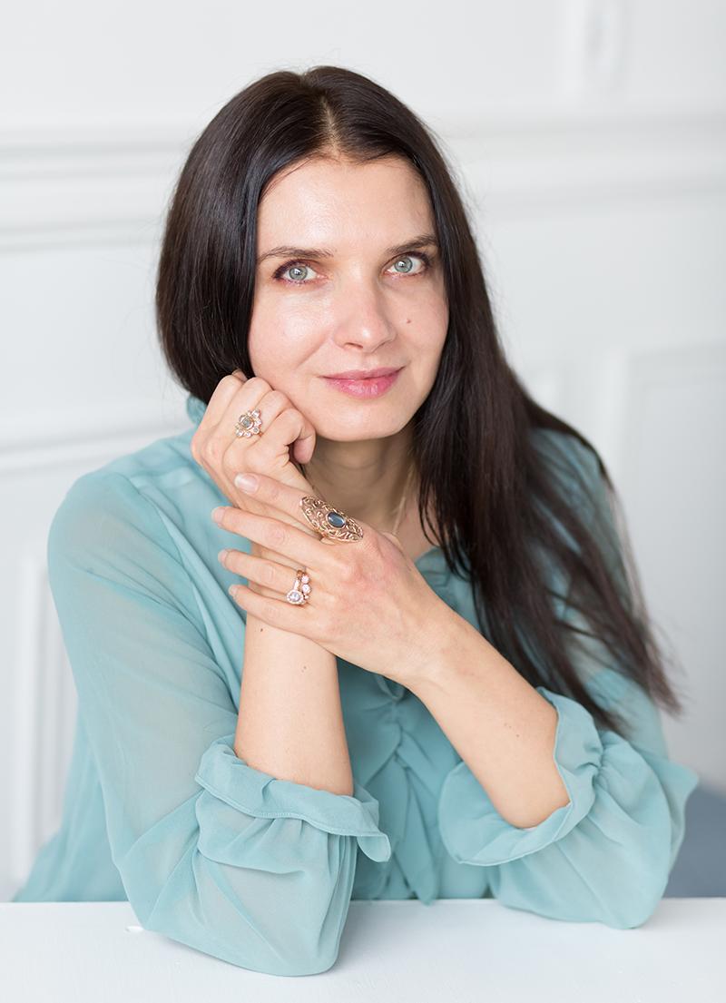 Toronto, Canada, Jewelry designer, Anat Kaplan started Anouk Jewelry in 2010