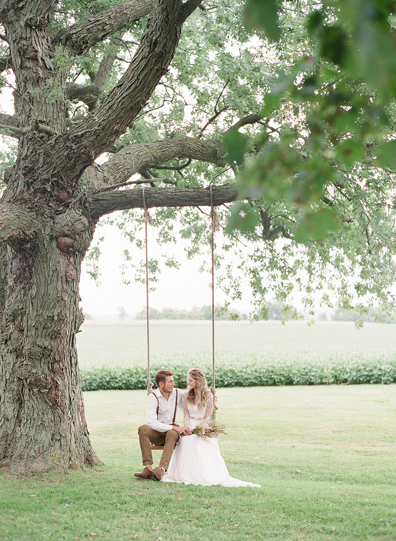 Boho wedding style, nature wedding, Canadian wedding